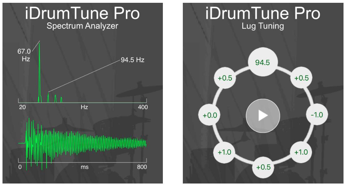 kick drum tuning app