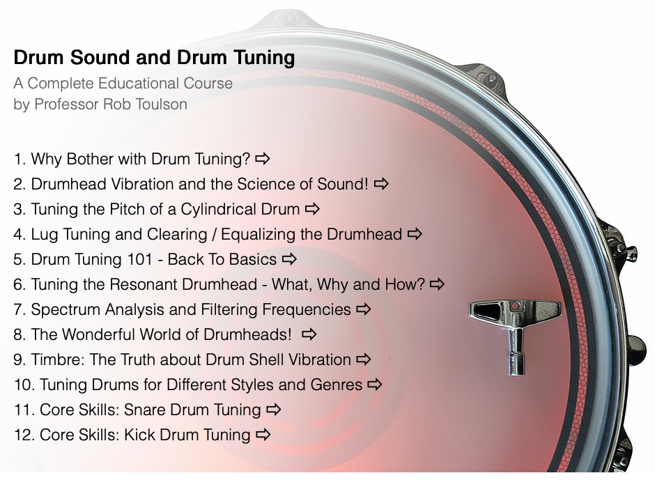ultimate guide to tuning drums and drum sound