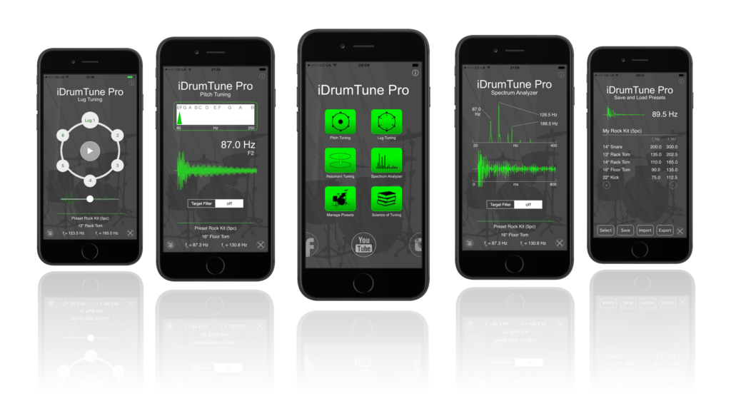 leading iDrumtuning app for drummers