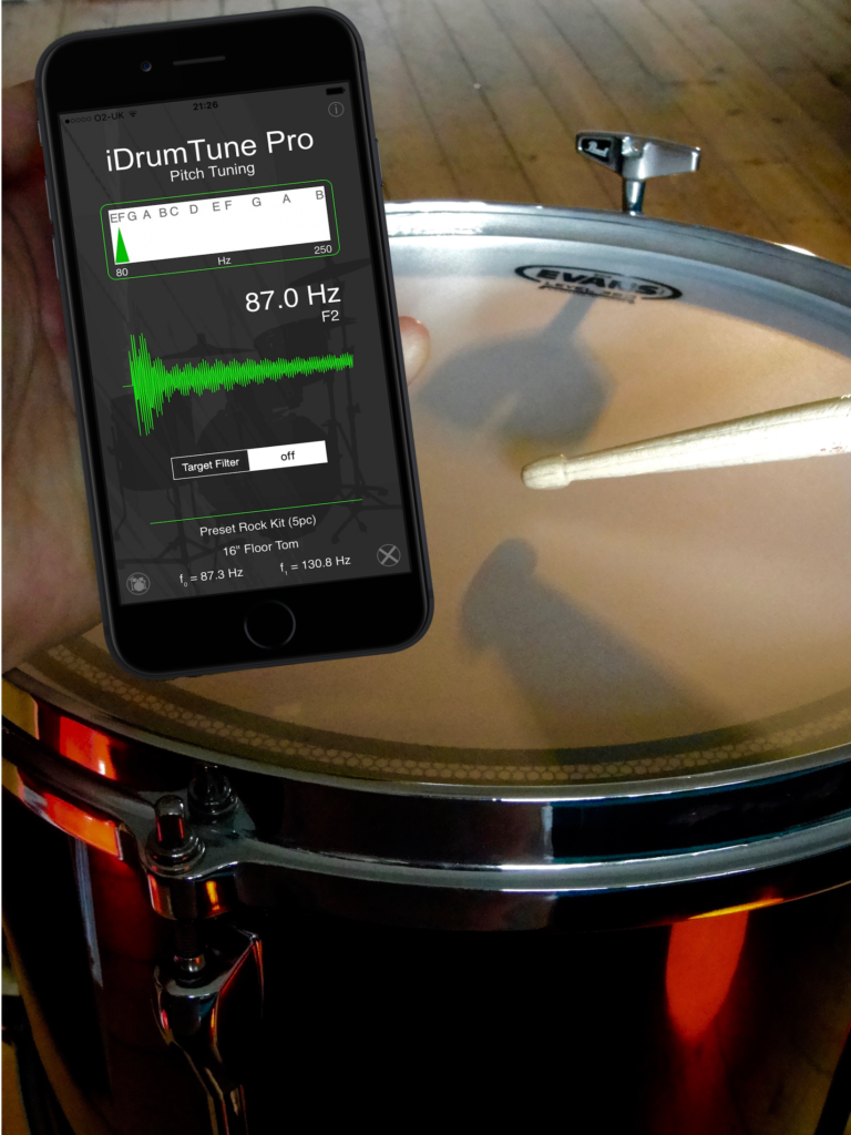 better drum tuning with idrumtune