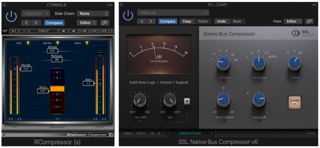 guide to Track, Bus and Parallel Compression for Mixing Drums